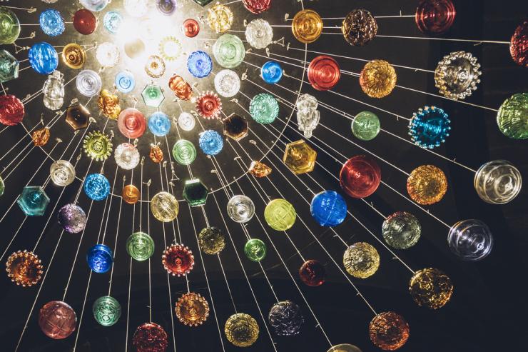 Exposition boules de Noël de Meisenthal - Sélestat